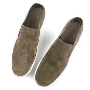 Vince Verrell Tan Suede Slip On Sneaker Mules 9.5